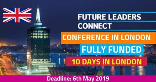 Future Leaders Connect 2019 [Fully Funded] Conference in London