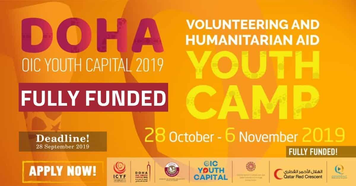 International Youth Camp for Voluntary 2019 in Doha, Qatar (Fully