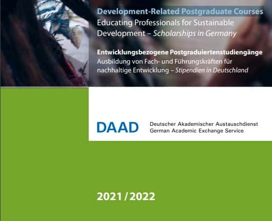 DAAD Scholarship 2020-2021 in Germany (Fully Funded ...