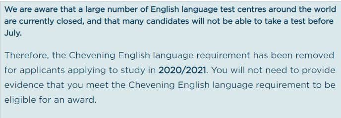 How To Win A Chevening Scholarship 2021 Opportunities Corners