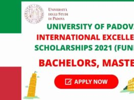 University of Padova Scholarship