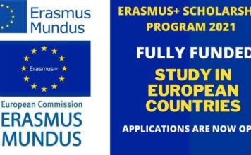 Erasmus+ Scholarship Program 2021