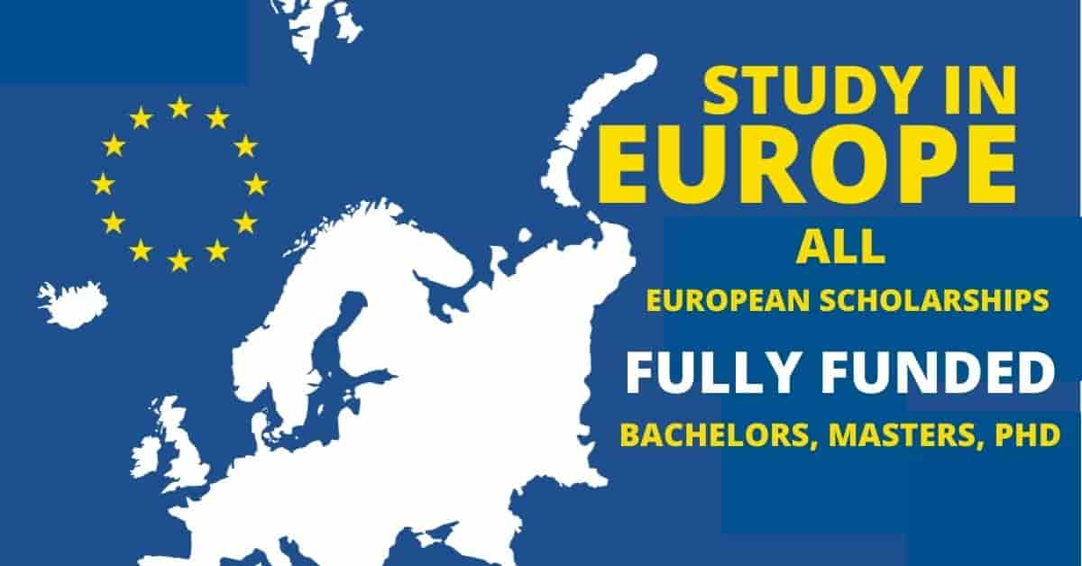 Countries in Europe offering Scholarships | All Europe Scholarships